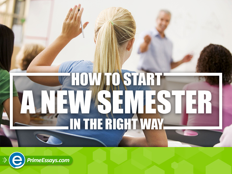 How to Start a New Semester Strongly