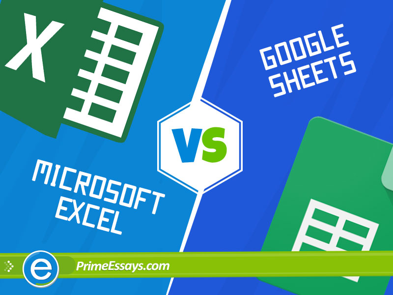 Particularities of Spreadsheets: Microsoft Excel versus Google Sheets