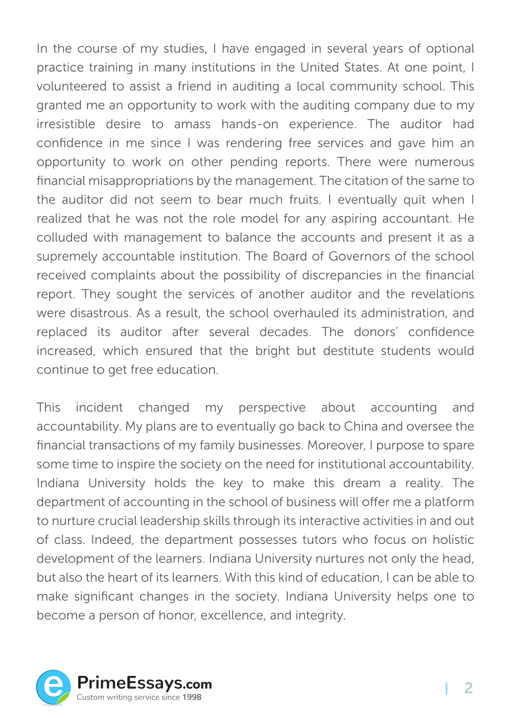 Private High School Admission Essay Examples, Importance of a Topic : Current School News